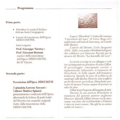 Volantino presentazione Déruchette 02